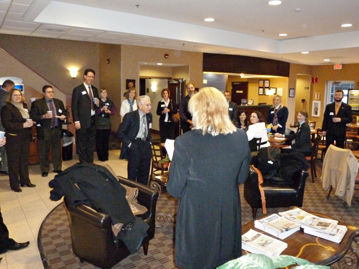 Holiday Inn - Network & NIbbles _ January 20, 2012